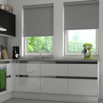 VALE Battery Operated Remote Blackout Blinds