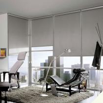 Luxaflex Room Darkening Natural Roller Blinds