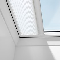 VELUX® Flat Roof Electric Pleated Blind (FMG)