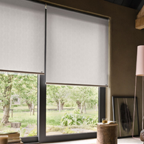 Luxaflex Translucent White/Off White Roller Blinds