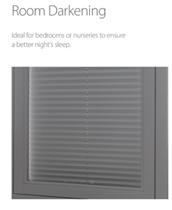 Luxaflex 20mm Room Darkening Plisse Blinds