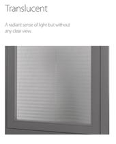 Luxaflex 20mm Translucent Plisse Blinds