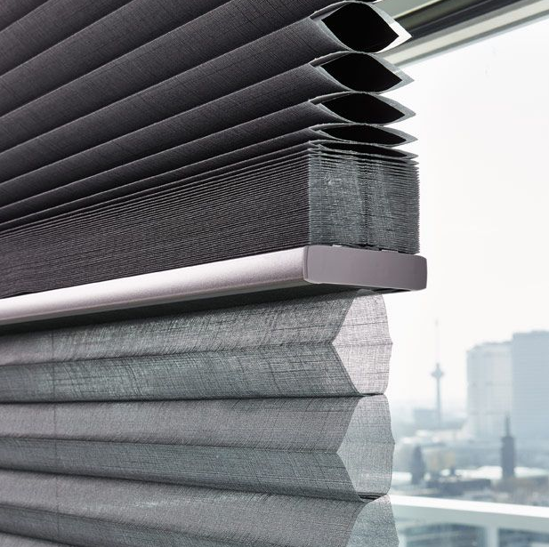 Luxaflex Day and Night Grey