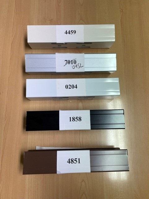 Custom Colour Wood Hardware Choice