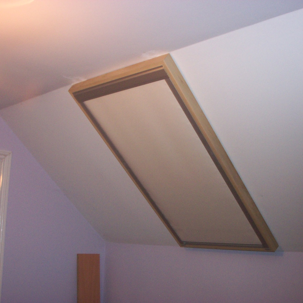 Customer Timber Frame with Blind Example