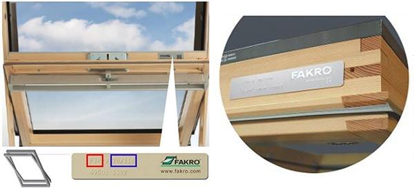Fakro Window Plate location