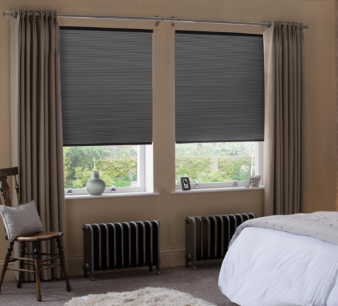 Vale Honeycomb Twin Blinds Image