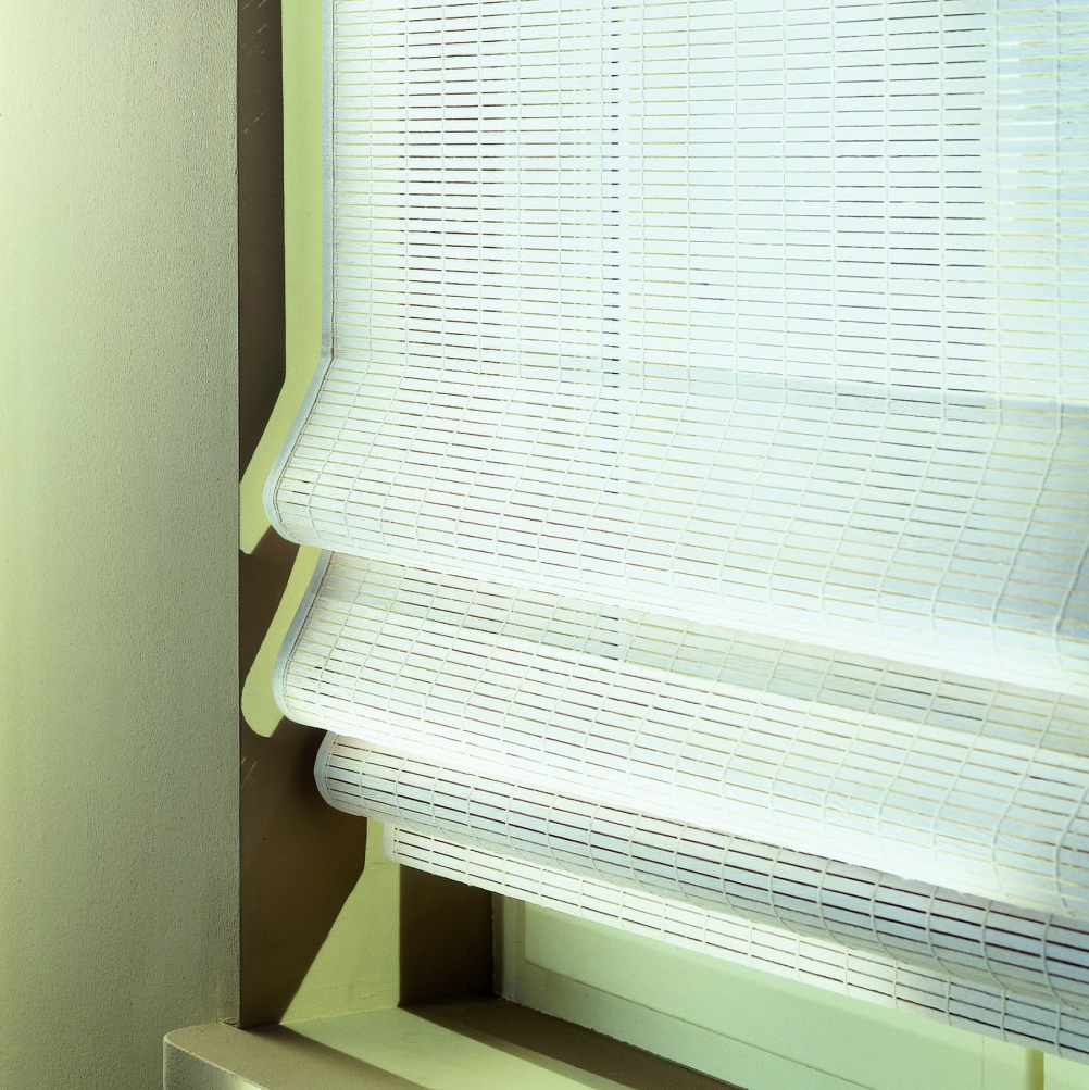 Luxaflex Wood Weave White Image