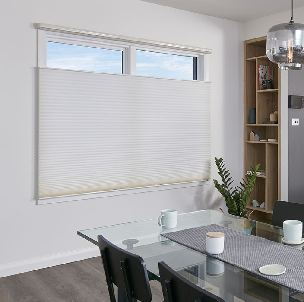Master Blinds White Top Down Bottom Up