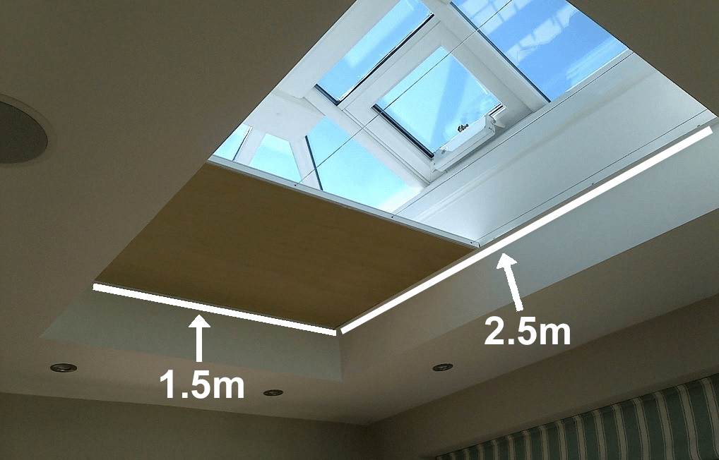 Tropical Flat Roof Blind