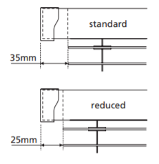 Tropical INTU Reduced headrail