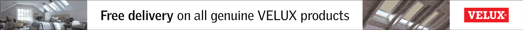 Free Delivery on Velux Blinds