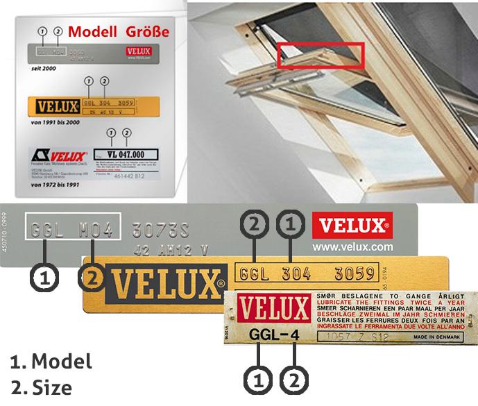 Velux Window Plate Image