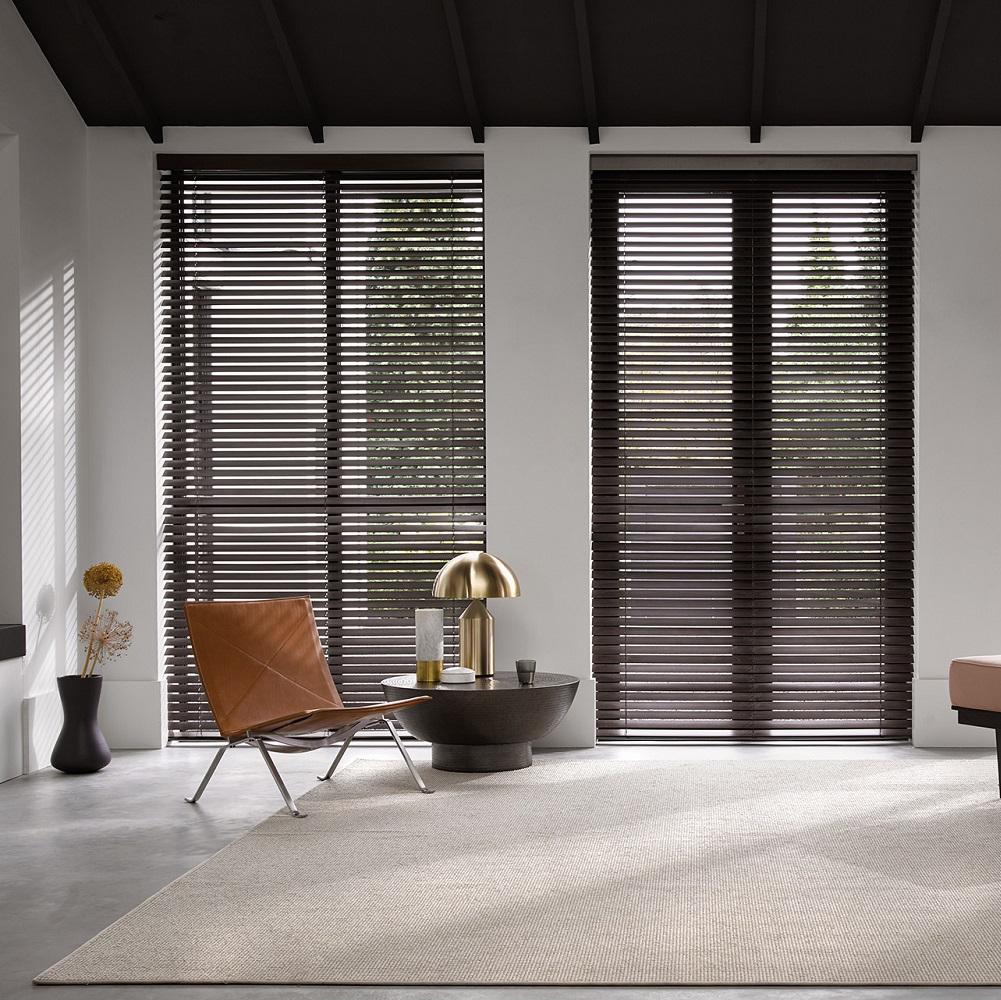 Luxaflex Wood Door Blinds