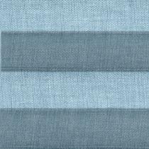 Genuine VELUX® Flying Pleated (FHL) Blind | 1286 - Blue Denim