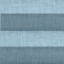 VELUX® Pleated (FSL) Solar Blinds   1286 - Blue Denim