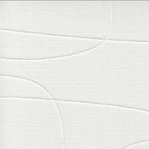 Luxaflex Vertical Transparent Blind White & Off White - 89mm | 2483 Moana