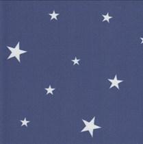 Genuine Roto Blackout Blinds - Q Windows   3-V62-Navy Blue Stars