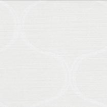 Deco 2 Luxaflex Room Darkening White/Off White Roller Blind | 7534 Romeno