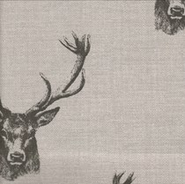 VALE Roman Blind - Creative Collection | Antler Charcoal