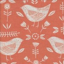 VALE Roman Blind - Creative Collection | Birdie Burnt Orange