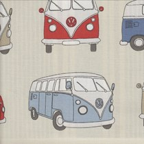 VALE Roman Blind - Creative Collection | Camper Blue