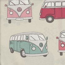 VALE Roman Blind - Creative Collection | Camper Pink