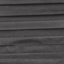 VALE Flat Roof 25mm Duette Blind | Unix - Charcoal 1831