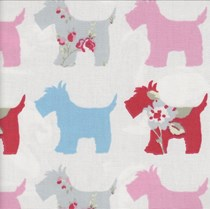 VALE Roman Blind - Creative Collection | Fala Grey/Pink