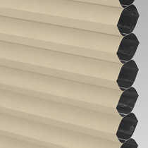VALE Flat Roof Honeycomb Blackout Blind | PX72003-Hive Barley