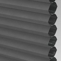 VALE Flat Roof Honeycomb Blackout Blind | PX72004-Hive Black