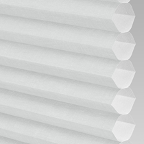 VALE Flat Roof Honeycomb Translucent Blind | Hive Deluxe Dove