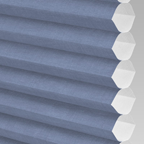 VALE Flat Roof Honeycomb Translucent Blind | Hive Deluxe Midnight