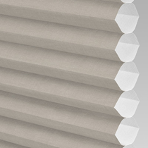 VALE Flat Roof Honeycomb Translucent Blind | Hive Deluxe Nutshell