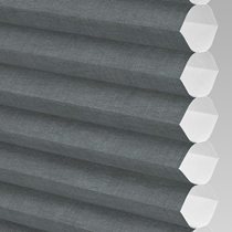 VALE Flat Roof Honeycomb Translucent Blind | Hive Deluxe Onyx