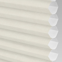 VALE Flat Roof Honeycomb Translucent Blind | Hive Deluxe Oyster