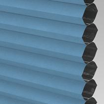 VALE Flat Roof Honeycomb Blackout Blind | PX72009-Hive Denim