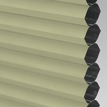 VALE Flat Roof Honeycomb Blackout Blind | PX72013-Hive Green