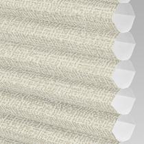 VALE INTU Cellular/Pleated Non-Blackout Blind | PX78101-Hive Matrix Cream