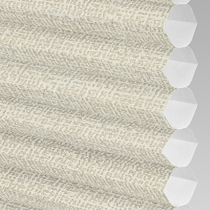 VALE Flat Roof Honeycomb Translucent Blind | PX78101-Hive Matrix Cream