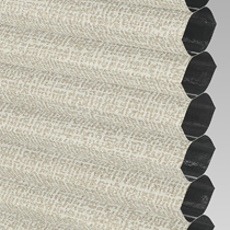 VALE Flat Roof Honeycomb Blackout Blind | PX78601-Hive Matrix Cream