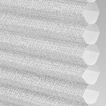 VALE INTU Cellular/Pleated Non-Blackout Blind | PX78102-Hive Matrix Silver