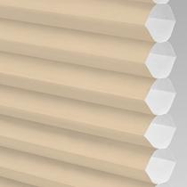 VALE Flat Roof Honeycomb Translucent Blind | PX71003-Hive Plain Barley