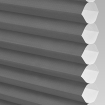 VALE Flat Roof Honeycomb Translucent Blind | PX71004-Hive Plain Black
