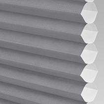 VALE Flat Roof Honeycomb Translucent Blind | Hive Plain Concrete