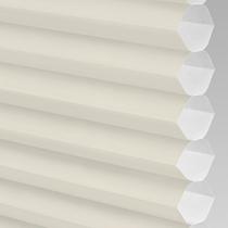 VALE Flat Roof Honeycomb Translucent Blind | PX71002-Hive Plain Cream