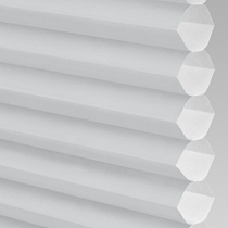 VALE Flat Roof Honeycomb Translucent Blind | PX71006-Hive Plain Iron