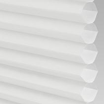 VALE Flat Roof Honeycomb Translucent Blind | PX71001-Hive Plain White