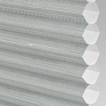 VALE Flat Roof Honeycomb Translucent Blind | Hive Silkweave Ash