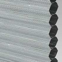 VALE Flat Roof Honeycomb Blackout Blind | Hive Silkweave Ash